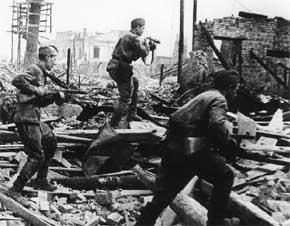 tentara Rusia mempertahankan voronezh selama Operation Blau
